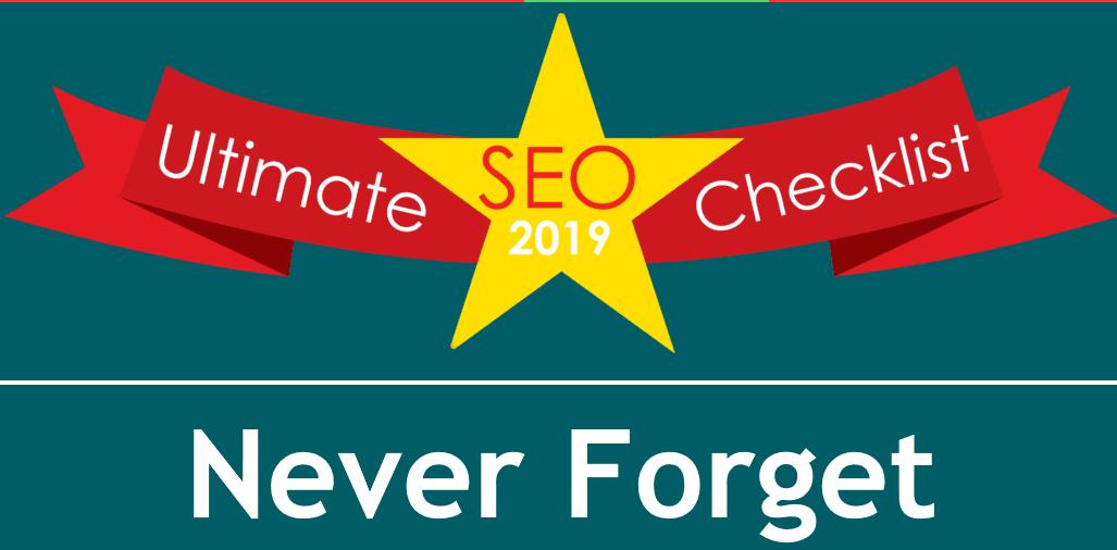 The Ultimate SEO Checklist Guide 2019 - WPGeared